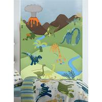 Catherine Lansfield Dinosaur Wall Mural - 158 x 232 cm