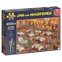 Jumbo 19076 Jan Van Haasteren - Darts 1000 Piece Jigsaw Puzzle