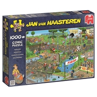 Jumbo 19064 Jan Van Haasteren Mudracers Jigsaw Puzzle (1000-piece)