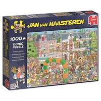 jumbo 19034 Jan Van Haasteren - Nijmegen Marches Jigsaw Puzzle (1000-piece)
