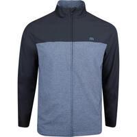 TravisMathew Golf Jacket - All Square FZ - Vintage Indigo SS19