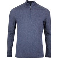 BOSS Golf Pullover - Piraq - Navy Melange FA19