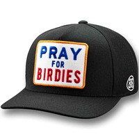 G/FORE Golf Cap - Pray for Birdies Snapback - Onyx 2020
