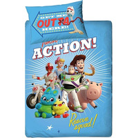 Toy Story 4 Single Duvet - Rescue