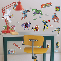 Marvel Avengers, 29 Removable Wall Stickers