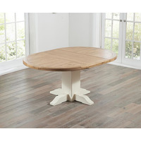 Hope Oak & Cream Extending Table