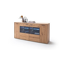 Portia 184cm Oak Sideboard With LED