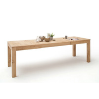 Santolina 160cm Oak Extending Dining Table