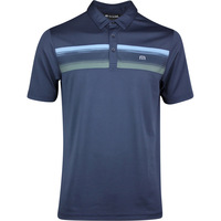 TravisMathew Golf Shirt - Par Tee Polo - Blue Nights SS20