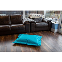 Blue, Water Resistant, Small Bean Bag Lounger