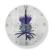 Bramble Thistle Clock