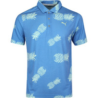 PUMA Golf Shirt - Sweetness Polo - Pineapple Print SS20
