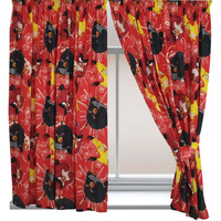 Angry Birds TNT Curtains - Red