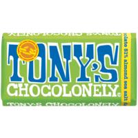 Tony's Chocolonely 51% Dark Almond Chocolate 180g