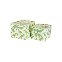 Dinosaur Roarsome Storage Boxes - Set of 2