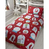 Christmas Double Bedding sets - Snow Globe
