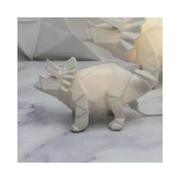 Mini Triceratops Dino LED Light - White