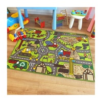 Construction Site Road Play Mat 100 x 133 cm