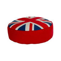 Union Jack Pouffe Footstool