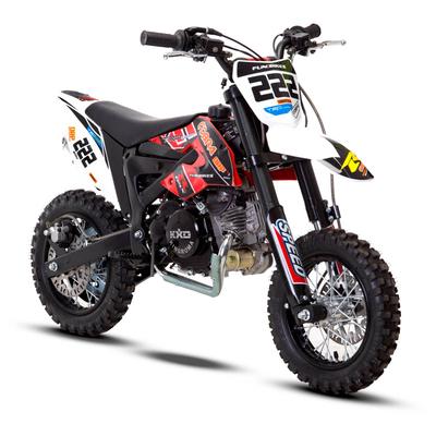 FunBikes Cobra 4S 50cc 62cm Red Kids Mini Dirt Bike