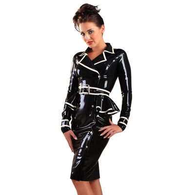 Jubilee Jacket Latex Dress