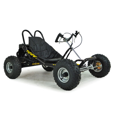 FunBikes The Drift 2 200cc Black Go Kart