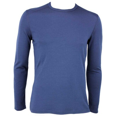 Icebreaker Oasis Crew Merino Golf Base Layer Admiral Navy AW15