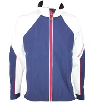 Galvin Green Amos Waterproof Golf Jacket White-Midnight Blue
