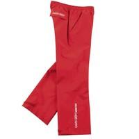 Galvin Green Junior Ross Paclite Waterproof Golf Trousers Red