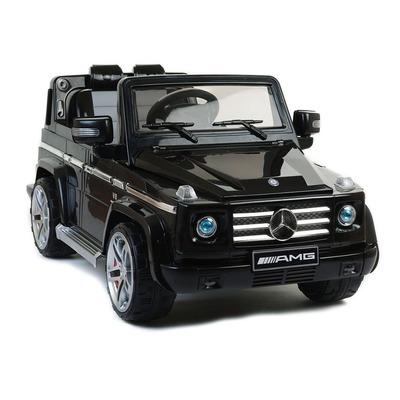 Mercedes Licenced G55 AMG Black Electric Ride On 4X4 SUV