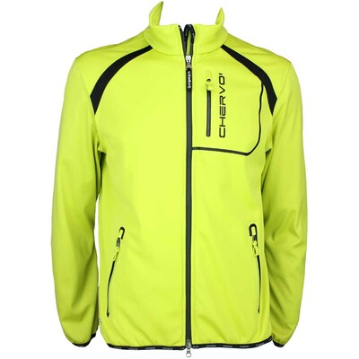 Cherv242 Mirandola Wind Lock Golf Jacket Lime Green AW15