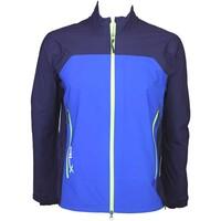 RLX Achievement Waterproof Golf Jacket Sapphire Star AW15