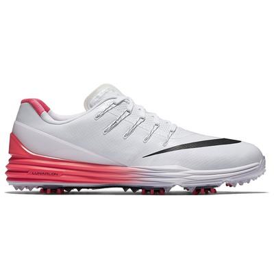 Nike Golf Shoes - Lunar Control 4 - White-Bright Crimson SS16