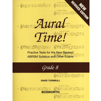 Aural Time Grade 8 (Turnbull)
