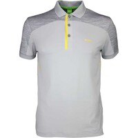 Hugo Boss Golf Shirt - Pavotech Grey Melange SP16