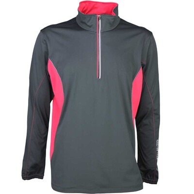 Galvin Green Windstopper Golf Jacket - BRAD Black - Red