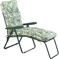Bracken Outdoors Deluxe Cotswold Leaf Lounger Garden Chair