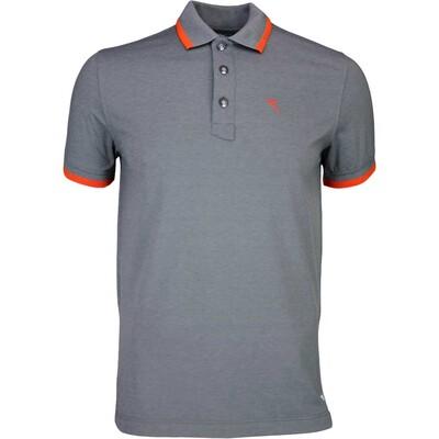 Cherv242 Golf Shirt ASPETTO Grey Melange SS16