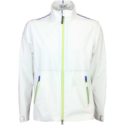 Cherv242 NEXT Waterproof Golf Jacket MAKALE White SS16