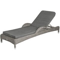 Alexander Rose Sunbed Cushion - Charcoal