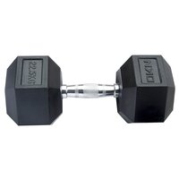 Image of DKN 22.5 kg Rubber Hex Dumbbell