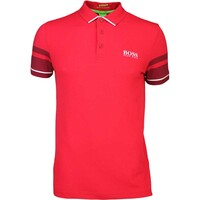 Hugo Boss Golf Shirt – Paule Pro 1 Barbados Cherry PF16