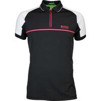 Hugo Boss Golf Shirt - Prek Pro - Black FA16