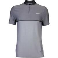 Nike Golf Shirt - MM Fly BLADE Block Alpha - Wolf Grey AW16