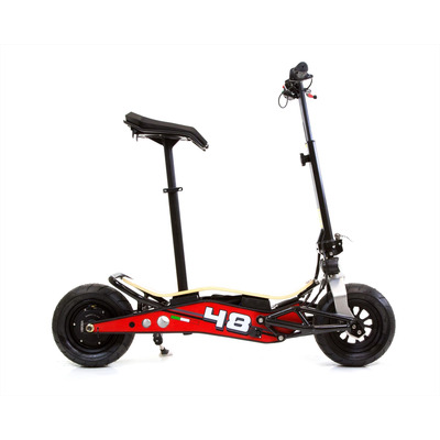 Velocifero MINIMAD 36 Volt 500W Lithium Battery Red Electric Scooter