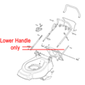 Click to view product details and reviews for Mountfield Lower Handle 381006531 0.
