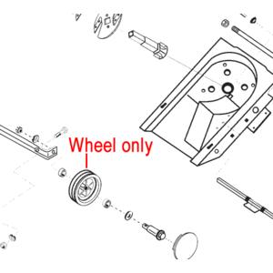 Al Ko Front Wheel Mower Shredder 348385
