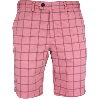 Ted Baker Golf Shorts Printed Chino Pink SS17