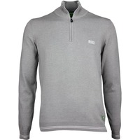 Hugo Boss Golf Jumper - Zime - Grey Melange PF17
