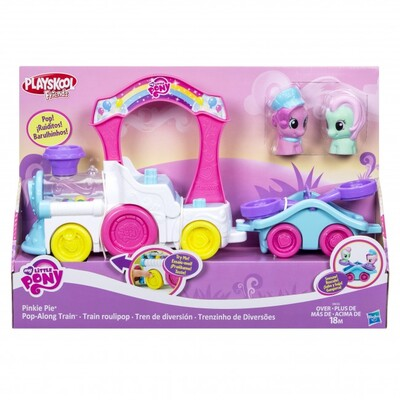 My Little Pony B9032 Playskool Friends Pinkie Pie Pop-along Train